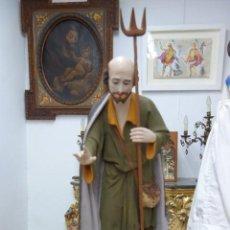 Arte - ESCULTURA RELIGIOSA DE SAN ISIDRO LABRADOR DE PRINCIPIOS DEL SIGLO XX - 168794824