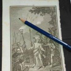 Arte: ORIGINAL GRABADO RELIGIOSO AÑO 1840 EL PRENDIMIENTO DE JESUS . Lote 168909672