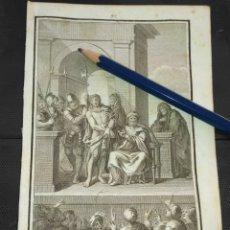 Arte: ORIGINAL GRABADO RELIGIOSO AÑO 1840 CRISTO - JESUS PRESENTADO ANTE EL PUEBLO. Lote 168912088