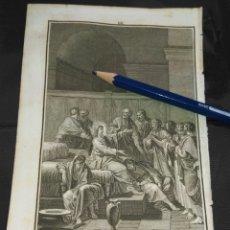 Arte: ORIGINAL GRABADO RELIGIOSO AÑO 1840 CRISTO , JESUS Y SUS APOSTOLES TRAS LA ULTIMA CENA. Lote 168915836