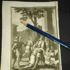 Arte: ORIGINAL GRABADO RELIGIOSO AÑO 1840 EL HIJO PRODIGO. Lote 168919004