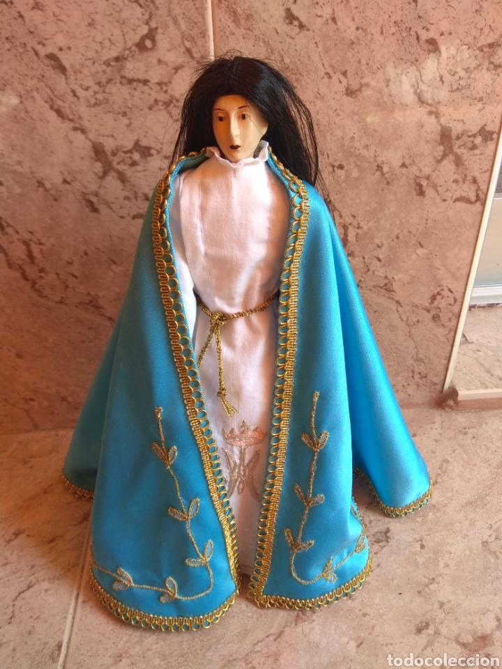 VIRGEN INMACULADA CAP I POTA - ACTUAL - LEER DESCRIPCIÓN - (Arte - Arte Religioso - Escultura)
