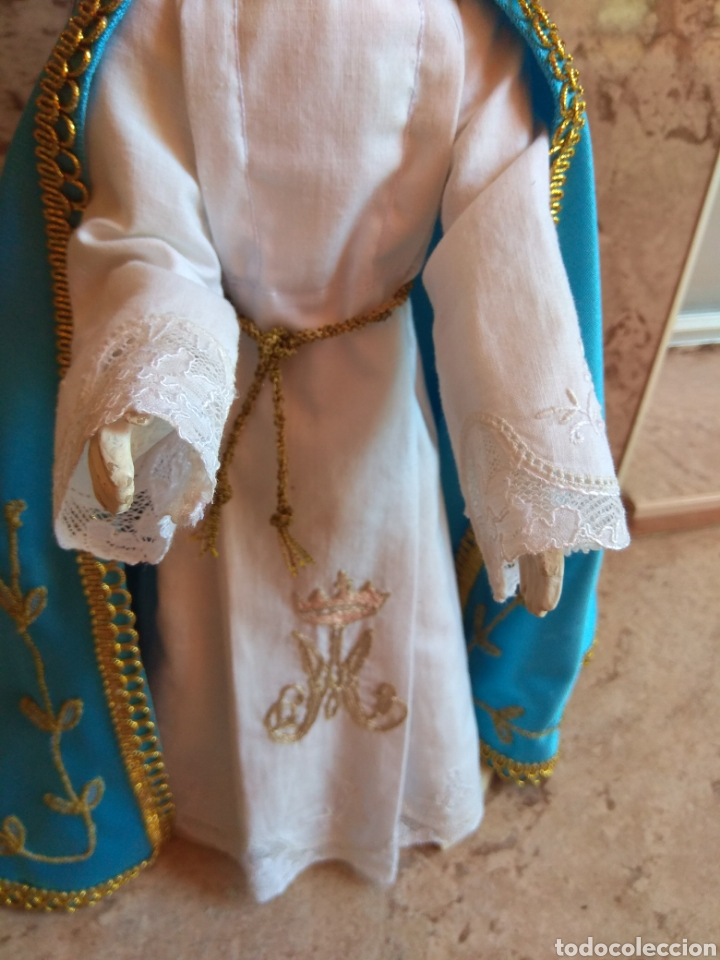 Arte: Virgen Inmaculada Cap i Pota - Actual - Leer Descripción - - Foto 9 - 168921050