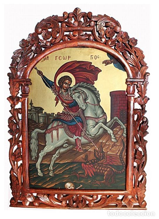 SAN JORGE (Arte - Arte Religioso - Iconos)