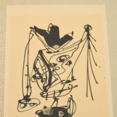 Arte: SAURA - LITOGRAFÍA - ORIGINAL 1983 - 16 / 20 - SELLO DEL ARTISTA - GALERIA BORGEN - CON CERTIFICADO. Lote 169195572