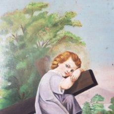 Arte: JESÚS NIÑO PASIONARIO (XIX-XX) - ANONIMO.OLEO/TABLA.. Lote 169285402