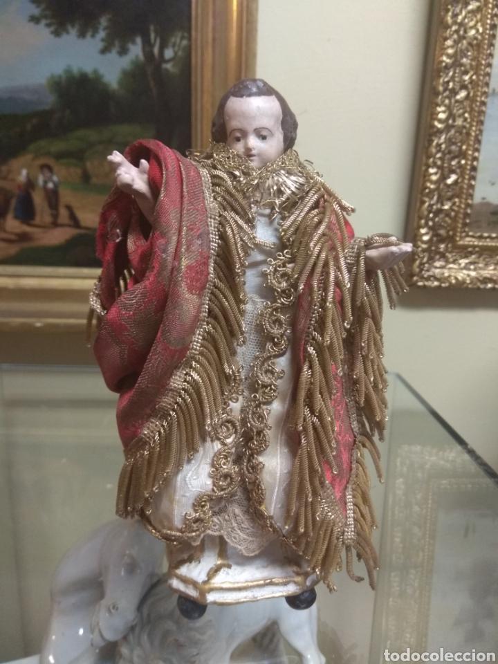 NIÑO JESÚS DE TERRACOTA XIX (Arte - Arte Religioso - Escultura)
