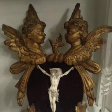 Arte: CRISTO VIVO EN MARFIL S.XVII FRANCÉS. Lote 169592332