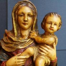 Arte: ANTIGUA IMAGEN RELIGIOSA VIRGEN. Lote 169891009