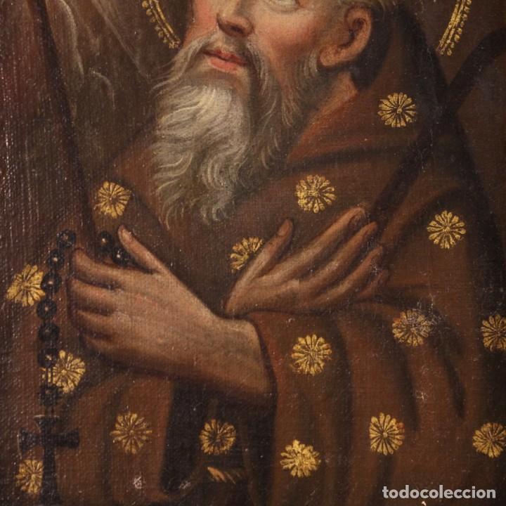 Arte: Antigua pintura religiosa italiana del siglo XVIII - Foto 3 - 170050280
