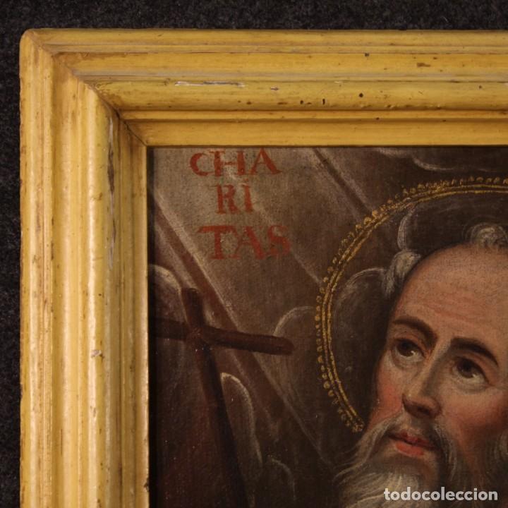 Arte: Antigua pintura religiosa italiana del siglo XVIII - Foto 4 - 170050280