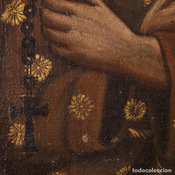 Arte: Antigua pintura religiosa italiana del siglo XVIII - Foto 8 - 170050280