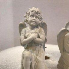 Arte: GRAN ANGEL DE BISCUIT, S. XIX. Lote 170122346