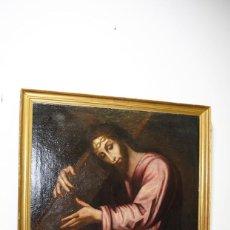 Arte: ÓLEO SOBRE LIENZO SIGLO XVIII JESÚS NAZARENO - JESÚS DE MEDINACELI. Lote 170294952