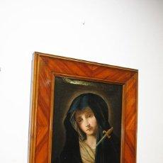 Arte: ÓLEO SOBRE LIENZO VIRGEN DOLOROSA SIGLO XVIII. Lote 170295112