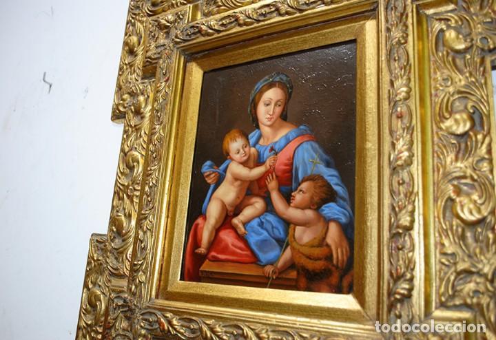 Arte: PINTURA ANTIGUA VIRGEN SOBRE PLANCHA DE COBRE - Foto 5 - 170297568