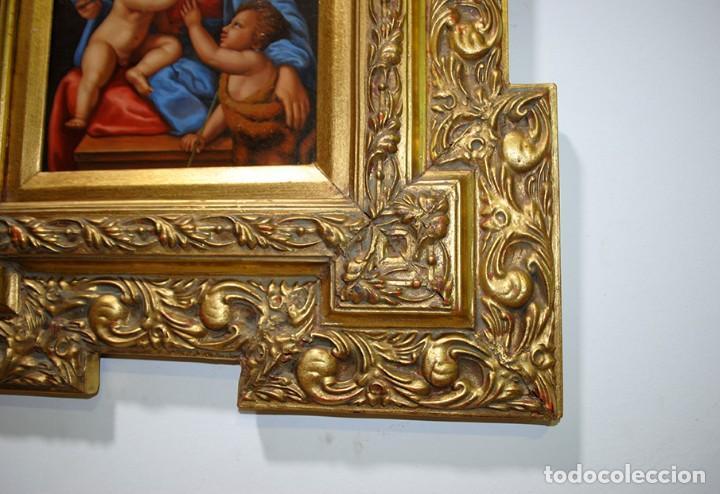 Arte: PINTURA ANTIGUA VIRGEN SOBRE PLANCHA DE COBRE - Foto 10 - 170297568