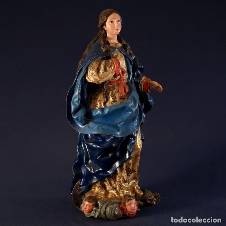 TALLA DE INMACULADA SIGLO XVIII (Arte - Arte Religioso - Escultura)