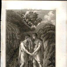 Arte: 1820 - BIBLIA - BIBLE - ANTIGUO TESTAMENTO - CARL SCHULER – FREIBURGO - GRABADO ORIGINAL. Lote 170401372