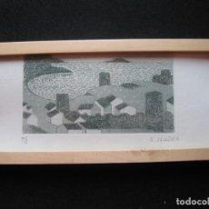 Arte: LITOGRAFIA DE CONCHA IBAÑEZ FIRMADA A LAPIZ. Lote 170422772