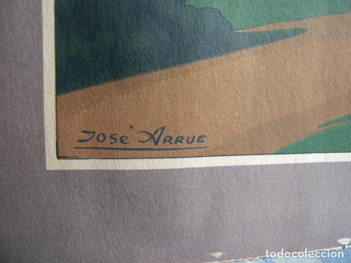 Arte: JOSE ARRUE - LITOGRAFIA A COLOR - Foto 4 - 170427532