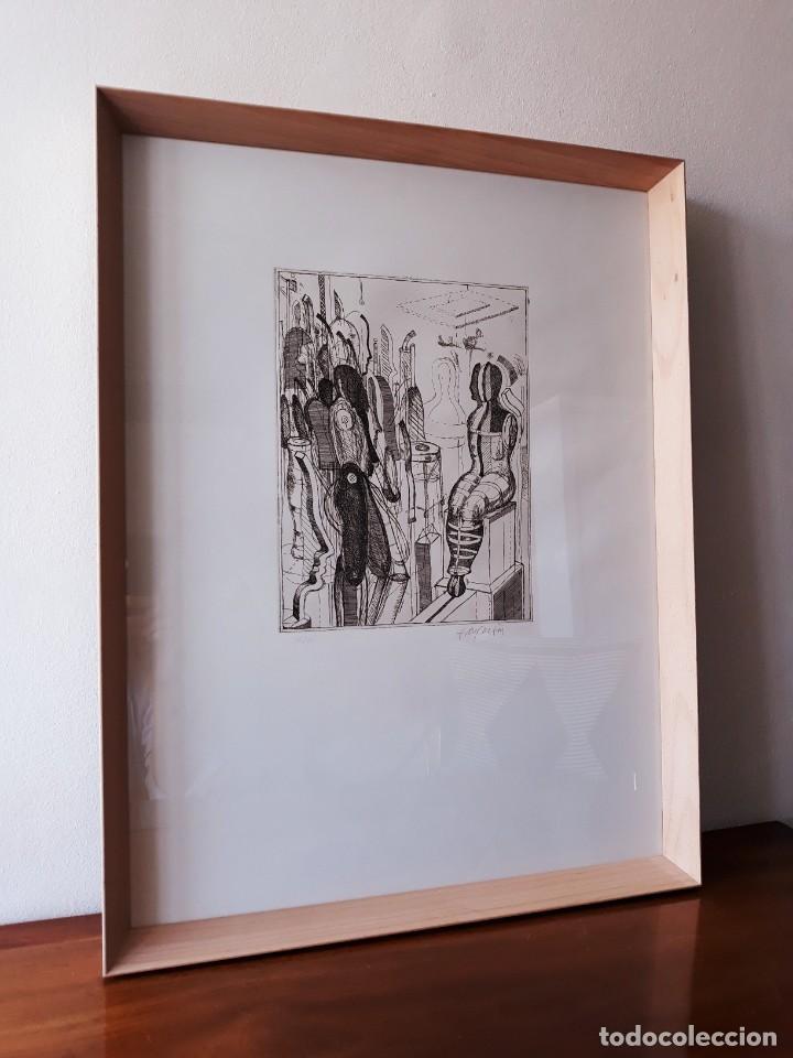 Arte: Litografia Modernista.Alemania. Firmada. Años 80 / 90 - Foto 3 - 170529132