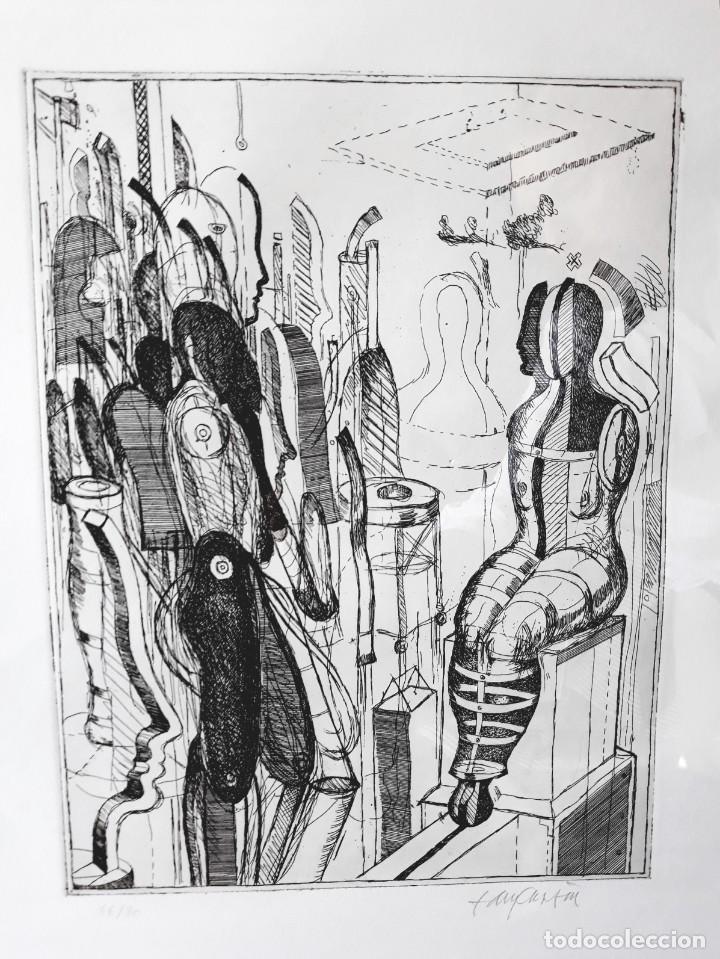 Arte: Litografia Modernista.Alemania. Firmada. Años 80 / 90 - Foto 4 - 170529132