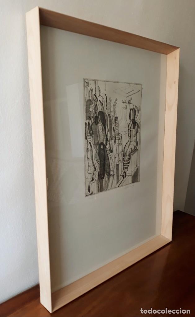 Arte: Litografia Modernista.Alemania. Firmada. Años 80 / 90 - Foto 6 - 170529132
