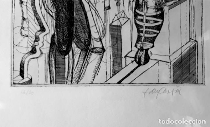 Arte: Litografia Modernista.Alemania. Firmada. Años 80 / 90 - Foto 7 - 170529132