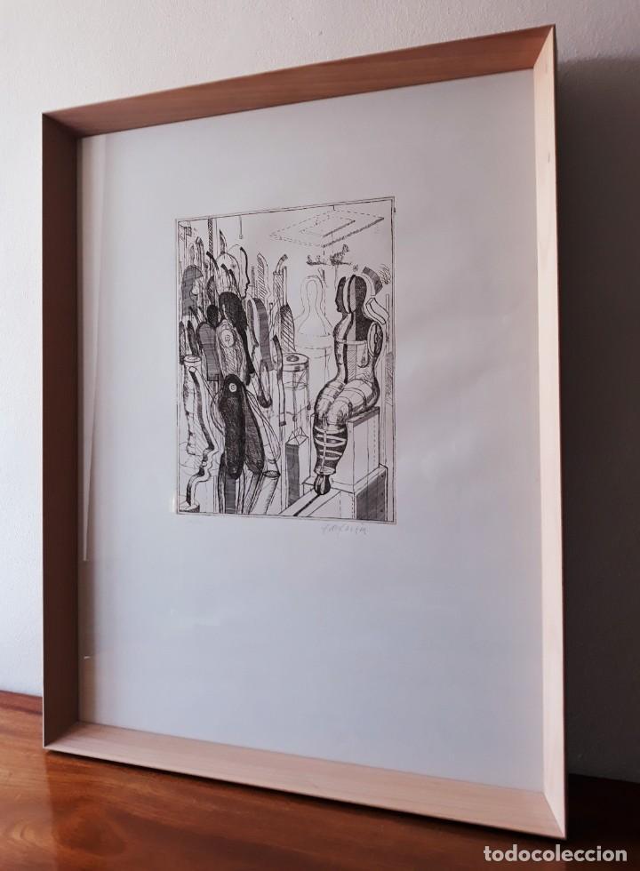 Arte: Litografia Modernista.Alemania. Firmada. Años 80 / 90 - Foto 8 - 170529132