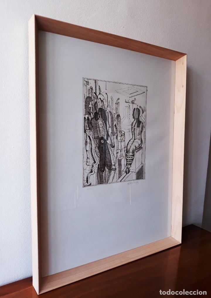 Arte: Litografia Modernista.Alemania. Firmada. Años 80 / 90 - Foto 9 - 170529132