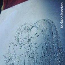 Arte: PRECIOSO GRABADO RELIGIOSO A LA PUNTA SECA. Lote 140527554
