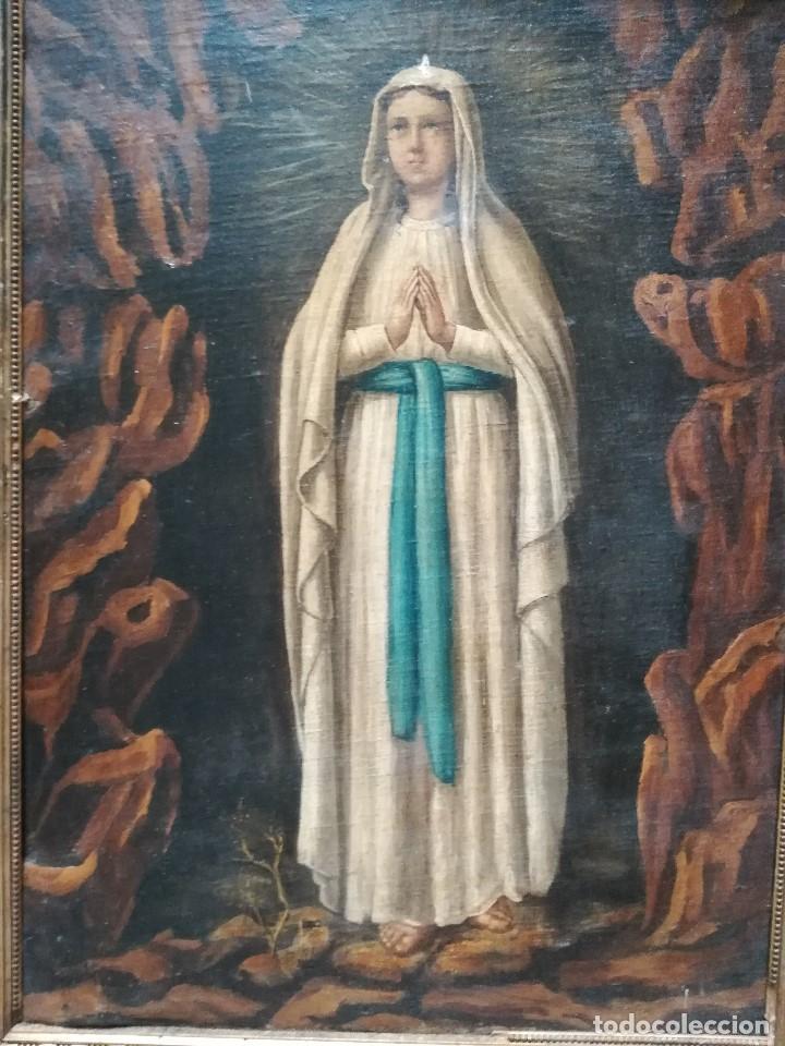 Arte: Virgen de lurdes - Foto 2 - 170697480