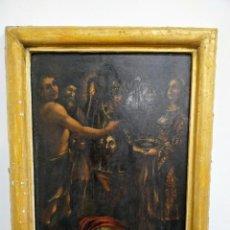 Arte: DECAPITACIÓN DE SAN JUAN BAUTISTA, ITALIA, SIGLO XVII - XVIII. Lote 170880335