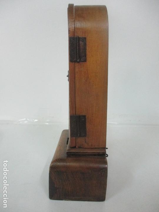 Arte: Preciosa Capilla Limosnera - Virgen de Fátima - Estuco Policromado - Talleres de Olot - Foto 3 - 171017627