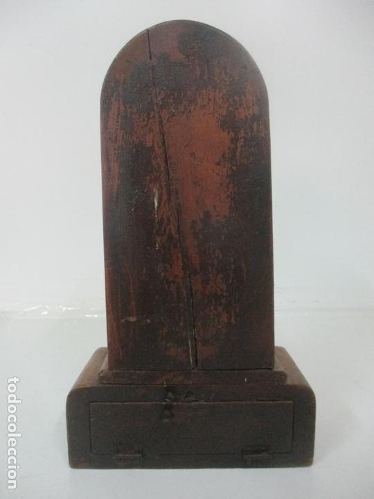 Arte: Preciosa Capilla Limosnera - Virgen de Fátima - Estuco Policromado - Talleres de Olot - Foto 4 - 171017627