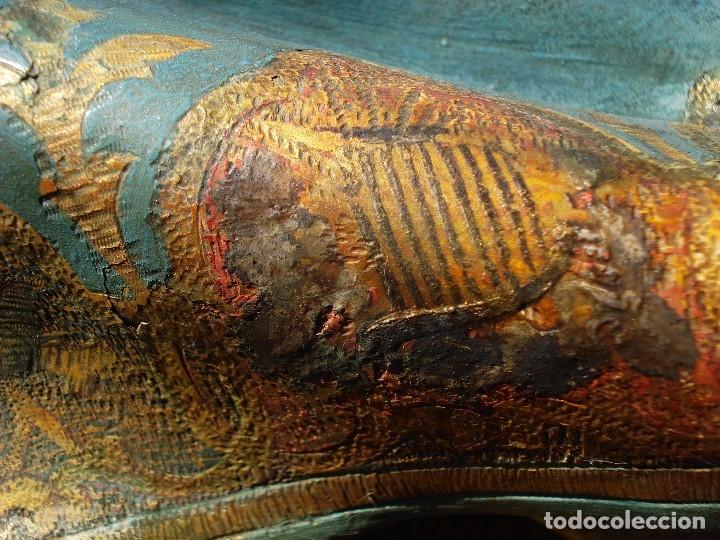 Arte: ESCUELA ESPAÑOLA INMACULADA PARA ALTAR O PROCESION GRANDES MEDIDAS SXIX - Foto 21 - 171041313