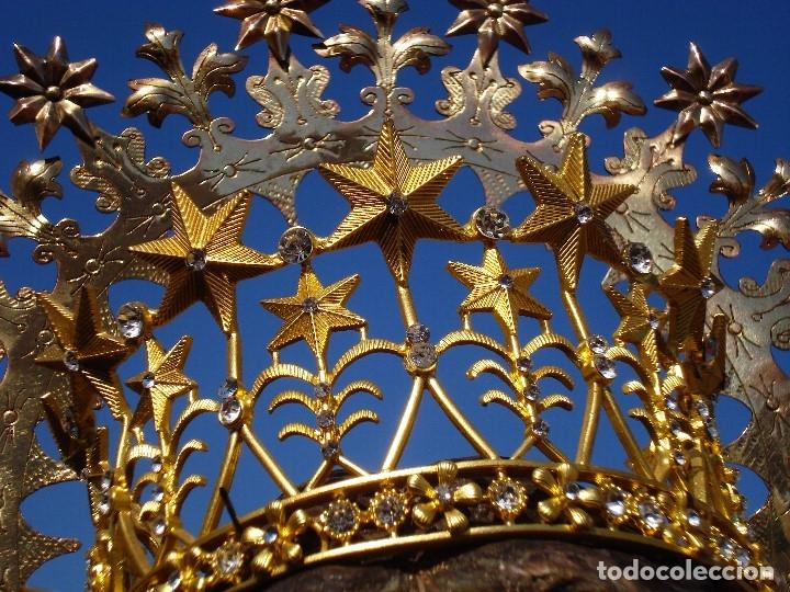 Arte: ESCUELA ESPAÑOLA INMACULADA PARA ALTAR O PROCESION GRANDES MEDIDAS SXIX - Foto 27 - 171041313