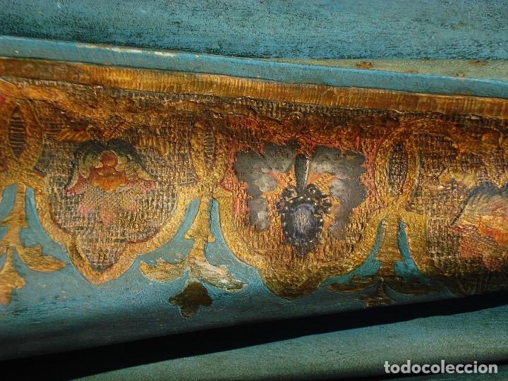 Arte: ESCUELA ESPAÑOLA INMACULADA PARA ALTAR O PROCESION GRANDES MEDIDAS SXIX - Foto 29 - 171041313