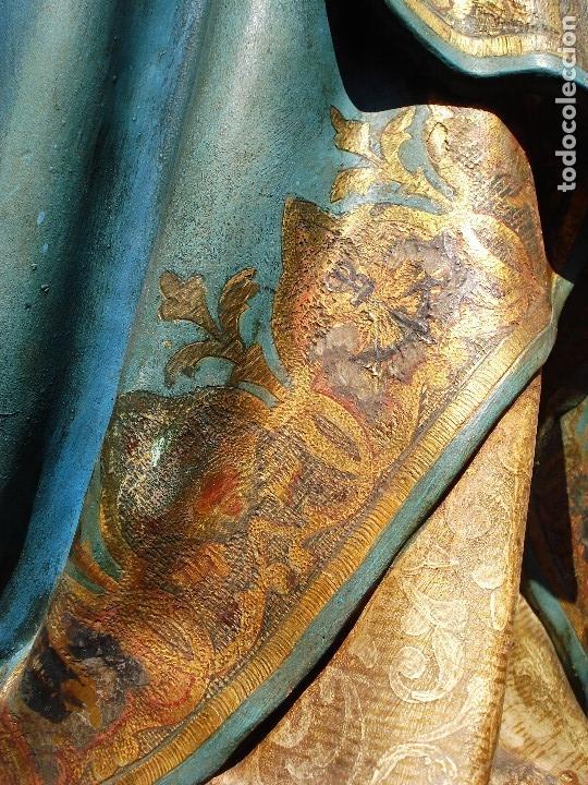 Arte: ESCUELA ESPAÑOLA INMACULADA PARA ALTAR O PROCESION GRANDES MEDIDAS SXIX - Foto 12 - 171041313