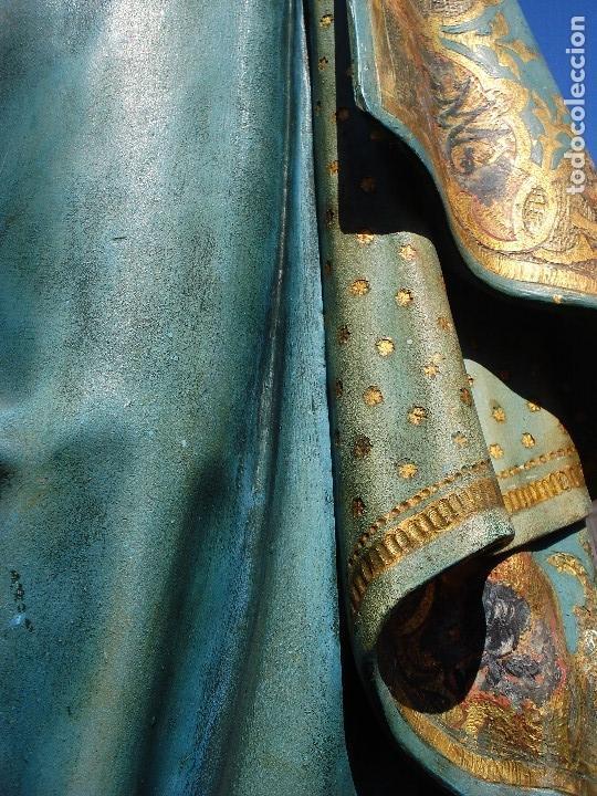 Arte: ESCUELA ESPAÑOLA INMACULADA PARA ALTAR O PROCESION GRANDES MEDIDAS SXIX - Foto 13 - 171041313