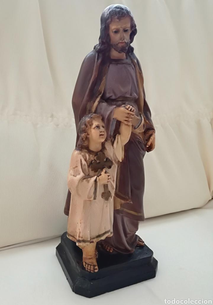 Arte: San Jose y niño Jesus Olot. - Foto 2 - 171126184