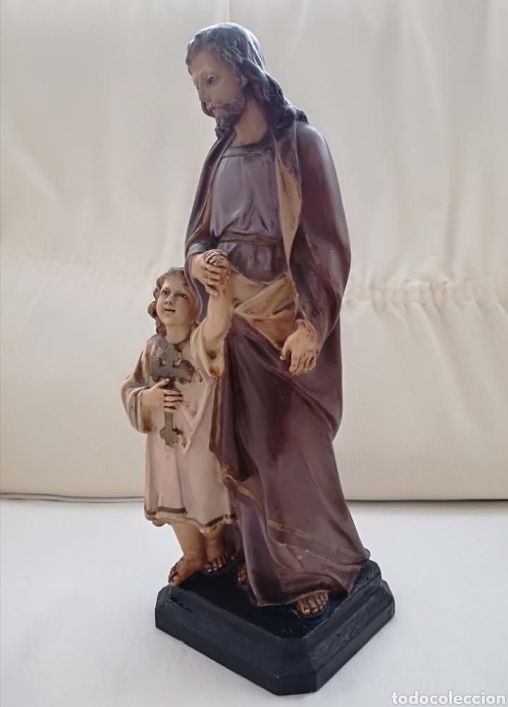 Arte: San Jose y niño Jesus Olot. - Foto 4 - 171126184