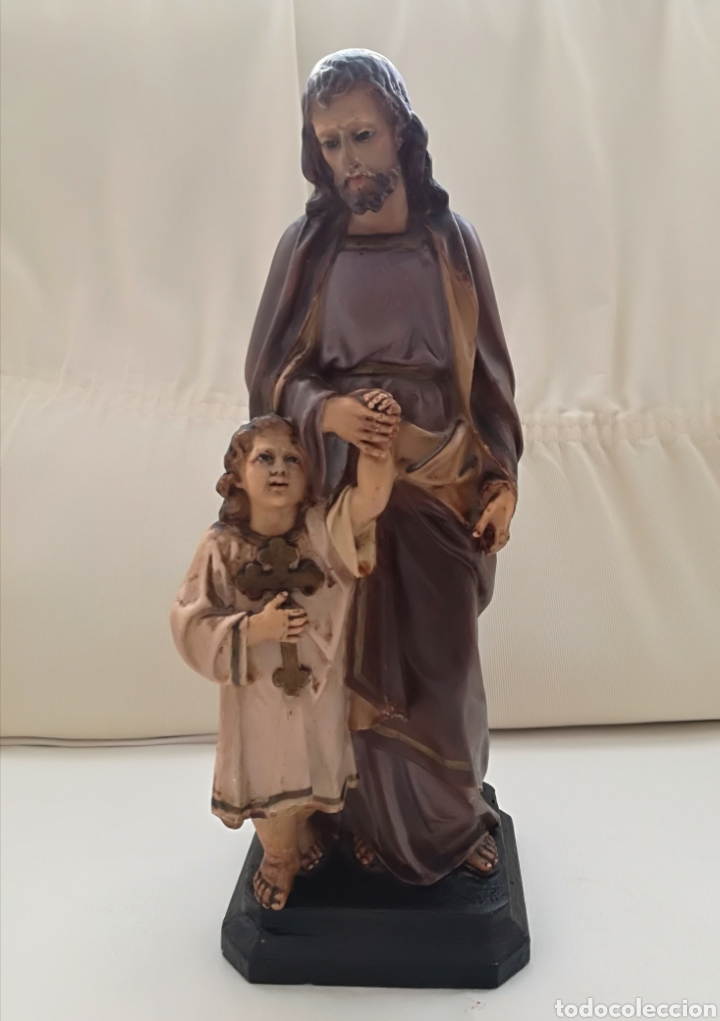 Arte: San Jose y niño Jesus Olot. - Foto 7 - 171126184