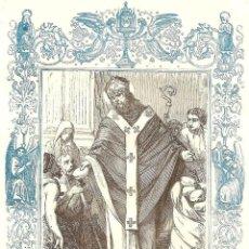 Arte: SAN VENANCIO, OBISPO Y MARTIR - GRABADO DÉCADAS 1850-1860 - BUEN ESTADO. Lote 171260385