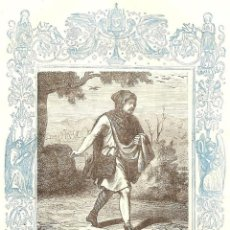 Arte: PARÁBOLA DEL SEMBRADOR - GRABADO DÉCADAS 1850-1860 - BUEN ESTADO. Lote 171260577