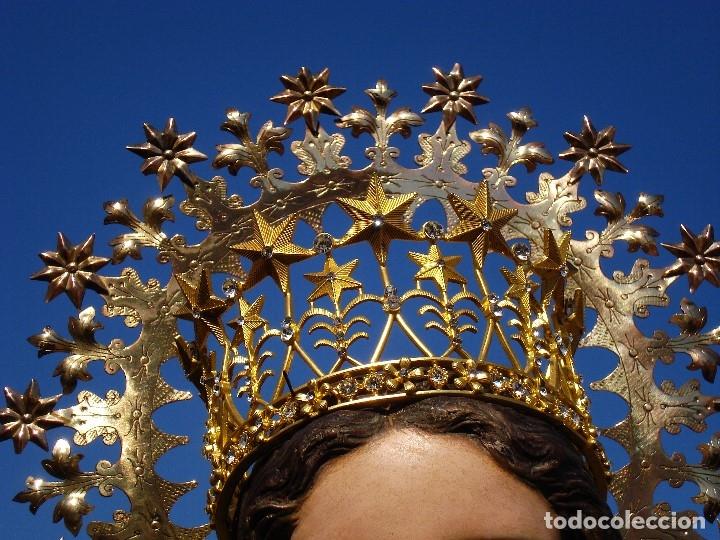Arte: INMACULADA CONCEPCIÓN ESCUELA ESPAÑOLA SXIX TALLA DE MADERA GRANDES MEDIDAS - Foto 35 - 167145492