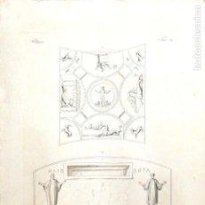 Arte: GRABADO DE PITTURE. 1830. MEDIDAS : 48 X 35 CM APROX.. Lote 171324969