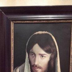 Arte: JESÚS DE NAZARET / CRISTO / OLEO SOBRE COBRE. Lote 171329295