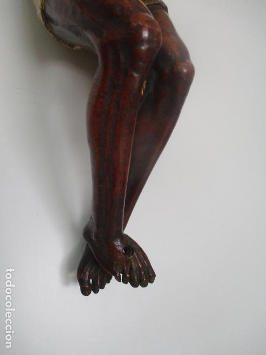 Arte: Impresionante Escultura, Jesucristo - Talla de Madera, Posible Gregorio Fernández - S. XVI-XVII - Foto 5 - 171334888